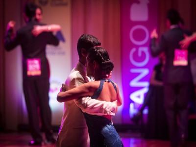 Tango bailado