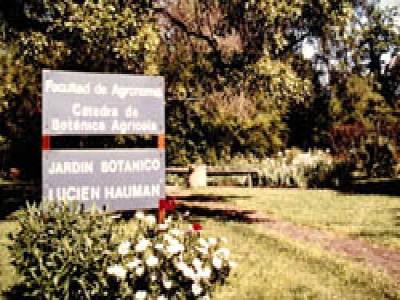 05 de Junio-Presentaron un proyecto de ley para declarar Patrimonio Cultural porteño al jardín botánico de la Facultad de Agronomía