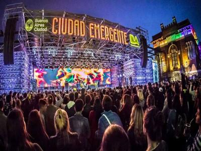 04 de Octubre-Comenzó el Festival Ciudad Emergente en la Usina del Arte