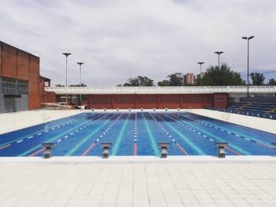23 de Diciembre-Vuelven a abrir el natatorio olímpico del Parque Sarmiento para deportistas de alto rendimiento