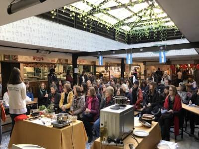 20 de Febrero-Clases gratuitas de cocina en el Mercado de Belgrano