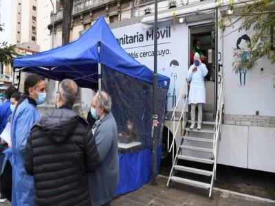 09 de Junio-Una de cada tres personas testeadas en Balvanera está infectada con coronavirus
