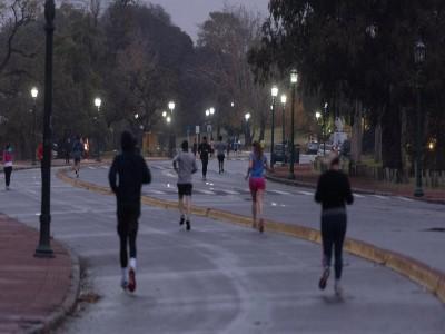 18 de Junio-Amplían los horarios de las salidas deportivas en la Ciudad de Buenos Aires