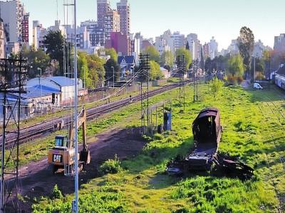 10 de Julio-Reinician las obras en el Playón Ferroviario de Caballito