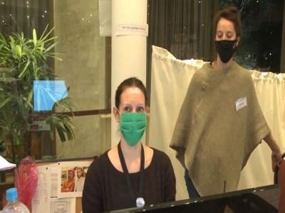 27 de Julio-El plantel estable del Teatro Colon se sumó como voluntario para asistir a pacientes aislados por coronavirus_