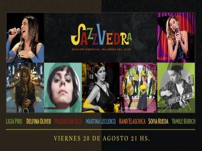 27 de Agosto-Se celebrará de manera virtual, la segunda edición del Festival Jazzvedra