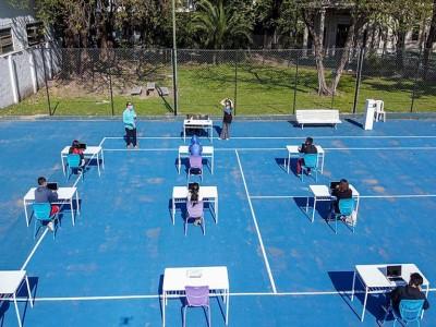 07 de Octubre-El Gobierno porteño habilitó un espacio de revinculación escolar en Parque Patricios_