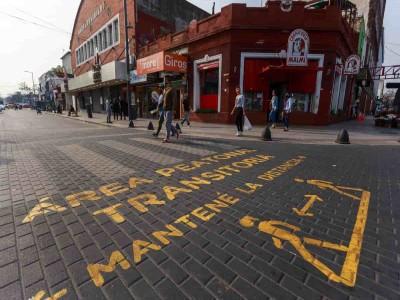 09 de Diciembre-Sumarán más de cien cuadras como Areas Peatonales Transitorias_