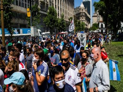 13 de Diciembre-En estos últimos días aumentaron los casos de contagios en la Ciudad de Buenos Aires_