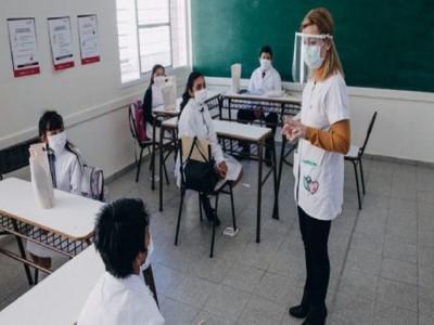 clases presenciales en las Escuelas porteñas_