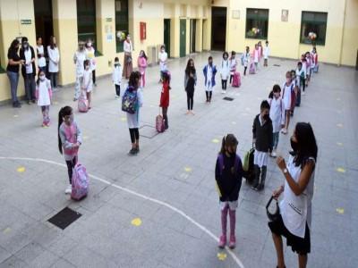 Analizan flexibilizar los protocolos por coronavirus de las escuelas porteñas_