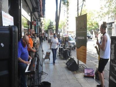 El nuevo Paseo de la Música del barrio de San Cristóbal_