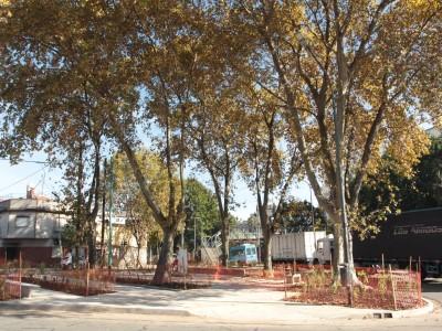 20 de Mayo-Finalizaron con las obras de puesta en valor de la Plazoleta Ricardo Gutiérrez en Villa del Parque_