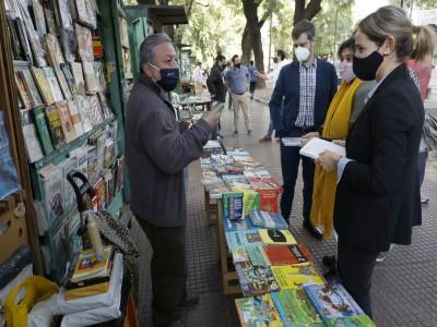 26 de Abril-Encuentro de Libreros y Libreras en Parque Patricios_