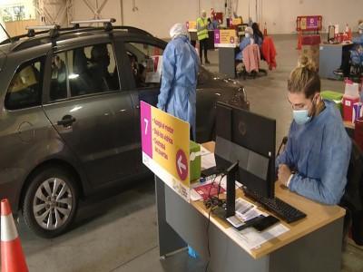 02 de Junio-La Ciudad cuenta con el primer vacunatorio vehicular contra el Covid-19_