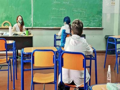 29 de Mayo-Vuelven las clases presenciales en las Escuelas porteñas_