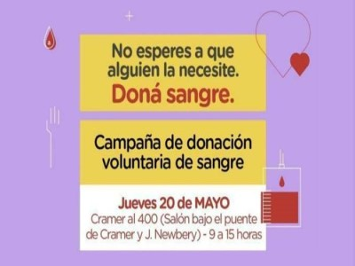 sangre donar