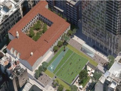 15 de Septiembre-Construirán un parque público en pleno centro porteño_