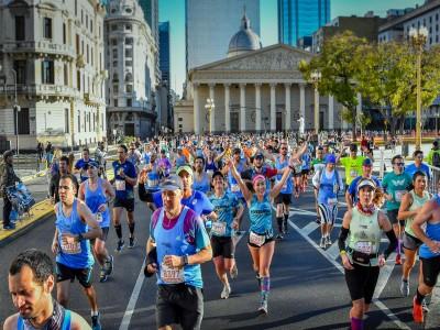 20 de Septiembre-Se realizará una nueva edición de la Maratón y media Maratón Internacional de la Ciudad de Buenos Aires_